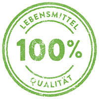 Rohstoffe in 100% Lebensmittelqualität