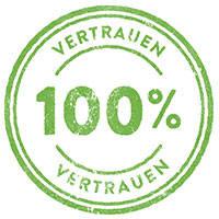 100% Vertrauen