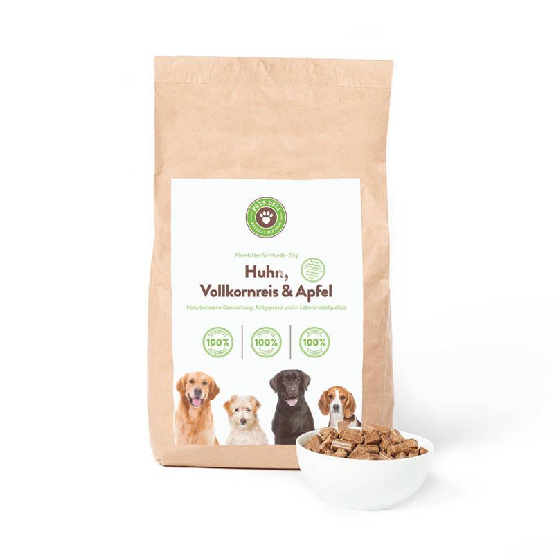 Kaltgepresstes Trockenfutter Huhn für Hunde_1